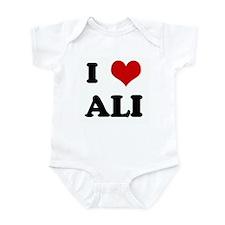 I Love ALI Infant Bodysuit