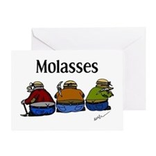 Molasses Greeting Card