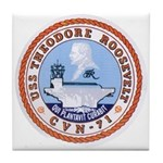 USS Theodore Roosevelt CVN 71 US Navy Ship Tile Co