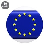 "Flag of Europe 3.5"" Button (10 pack)"