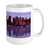 Manhattan Cityscape Reflectio Mug