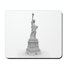 Statue of Liberty B&W Illustr Mousepad