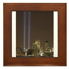 Tribute in Light (September 1 Framed Tile