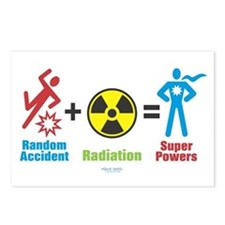 Super Powers Postcards (Package of 8)