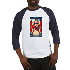 Obey the Puggle! USA Baseball Jersey