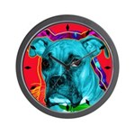 Boxer dog Wall Clock
