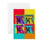 Boxer dog Greeting Cards (Pk of 10)