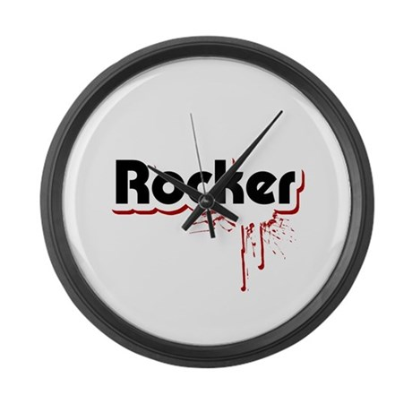 Rocker Large Wall Clock