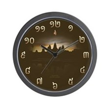 Angkor Wat Wall Clock