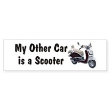 Just Gotta Scoot Joker Bumper Bumper Sticker