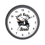 Just Gotta Scoot Joker Wall Clock