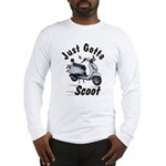 Just Gotta Scoot Joker Long Sleeve T-Shirt
