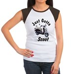Just Gotta Scoot Joker Women's Cap Sleeve T-Shirt