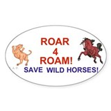 Bay Stallion & Lion Roar for ROAM Decal