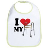 I love my walker! Bib