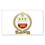TERRIOT Family Crest Rectangle Sticker 50 pk)