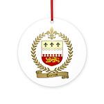 TERRIOT Family Crest Ornament (Round)