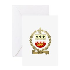TERRIOT Family Crest Greeting Card