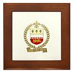 TERRIOT Family Crest Framed Tile