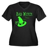 """Bad Witch"" Women's Plus Size T-Shirt"
