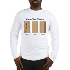 Know Your Tracks Long Sleeve T-Shirt