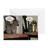 Handsome Bunny Father's Day Greeting Card
