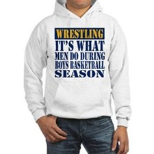 Boys Basketball Season Hoodie