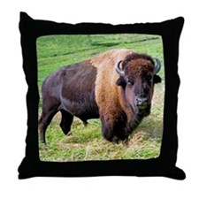 buffalo Throw Pillow