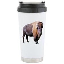 buffalo Ceramic Travel Mug