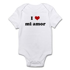 I Love mi amor Infant Bodysuit