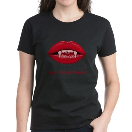 Blood Donors Needed Womens T-Shirt