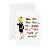 Cool Airline pilots Greeting Cards (Pk of 20)