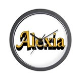 Alexia Name Wall Clock