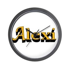 Alexi Name Wall Clock