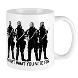 Get What You Vote For Small Mug