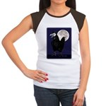 Rooster Ghost Women's Cap Sleeve T-Shirt