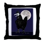 Rooster Ghost Throw Pillow