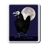 Rooster Ghost Mousepad