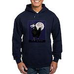 Rooster Ghost Hoodie (dark)