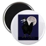 "Rooster Ghost 2.25"" Magnet (10 pack)"