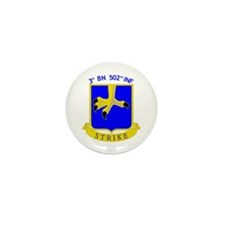 3rd BN 502nd INF Mini Button (10 pack)