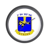 3rd BN 502nd INF Wall Clock