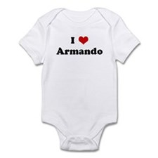 I Love Armando Infant Bodysuit