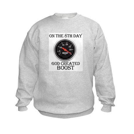 God Created Boost Kids Sweatshirt