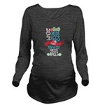 Horseshoe Bat Women's Long Sleeve Dark T-Shirt