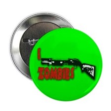"I shotgun zombies! 2.25"" Button (100 pack)"