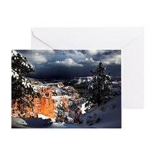Storm Cloud Valley Greeting Card