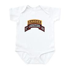 101st ABN LRS Scroll with Ran Infant Bodysuit