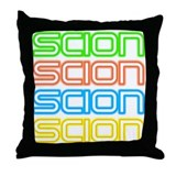 Backseat VIP Throw Pillow
