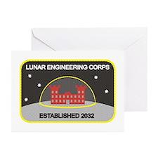 Lunar Engineering Greeting Cards (Pk of 20)